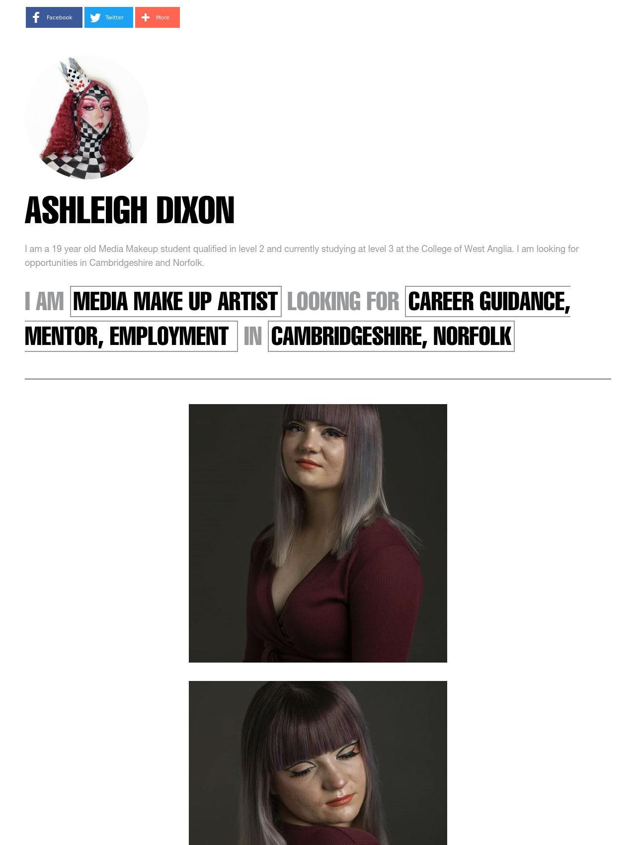 ashleigh dixon
