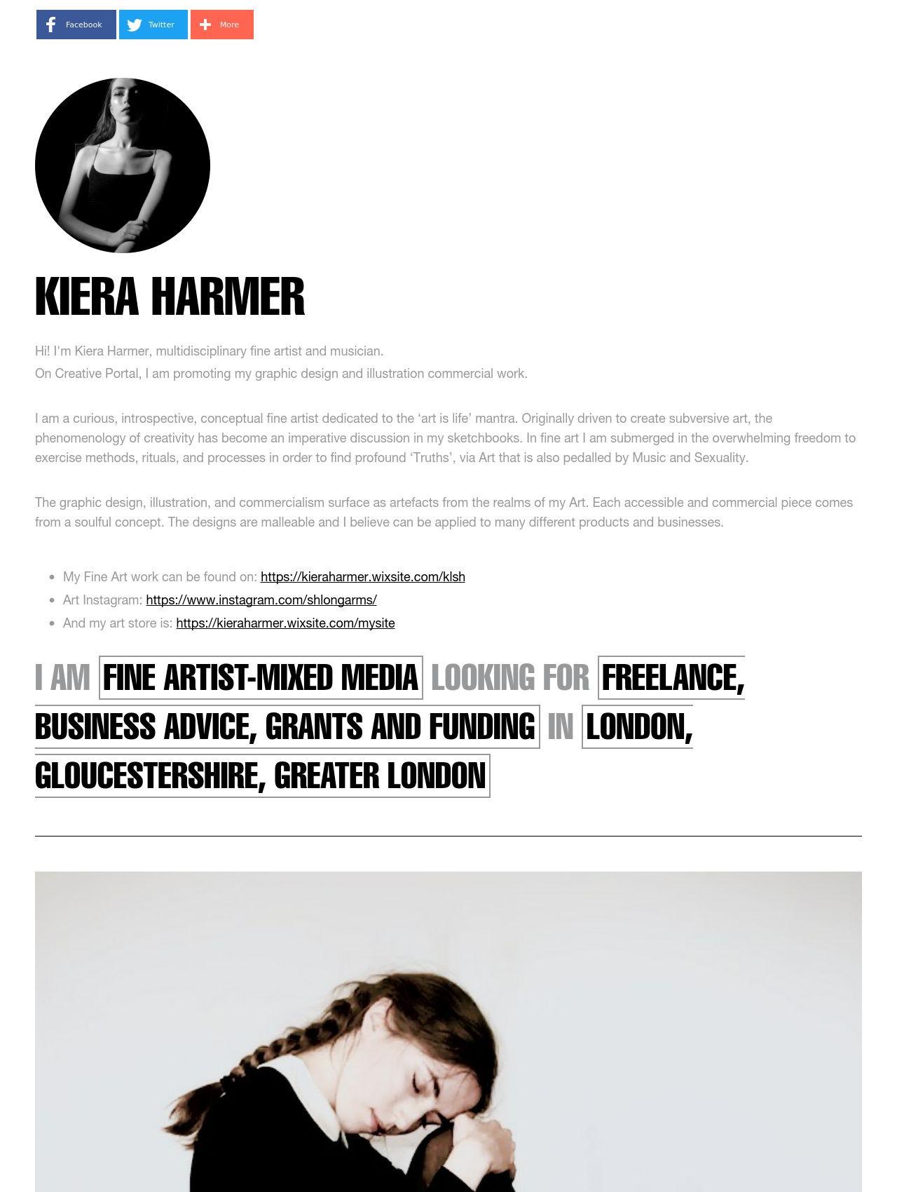 Kiera Harmer