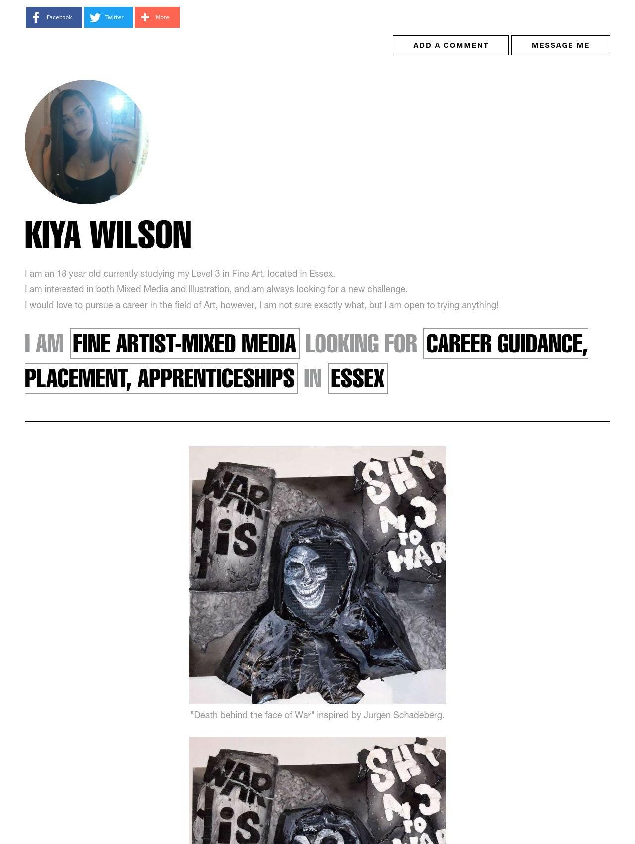 Kiya Wilson
