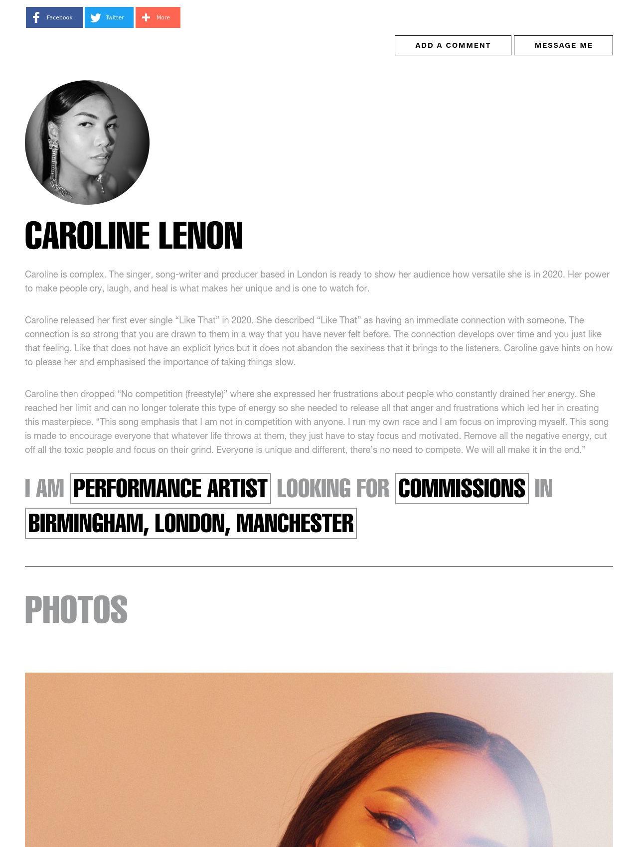 Caroline Lenon