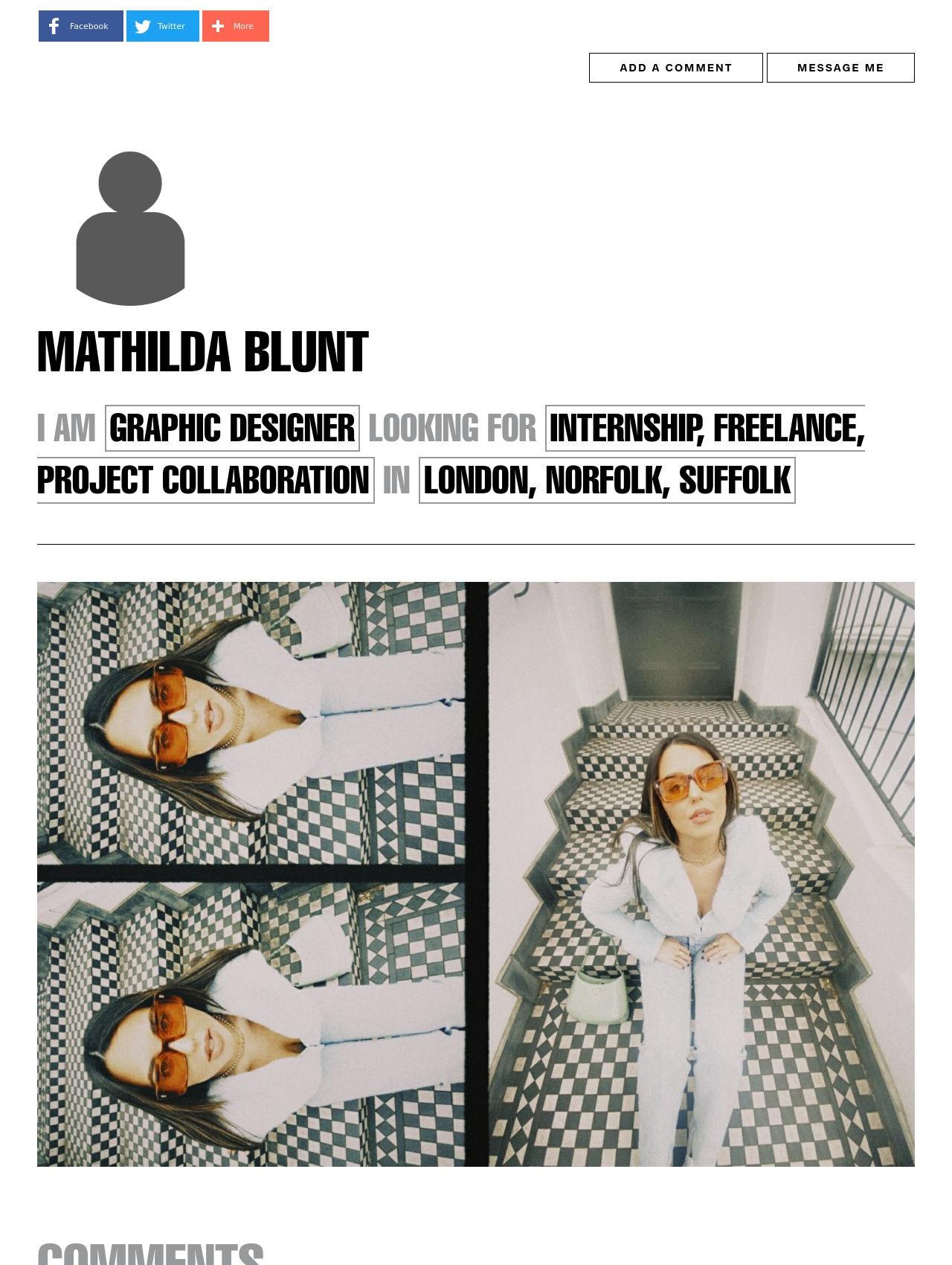 Mathilda Blunt