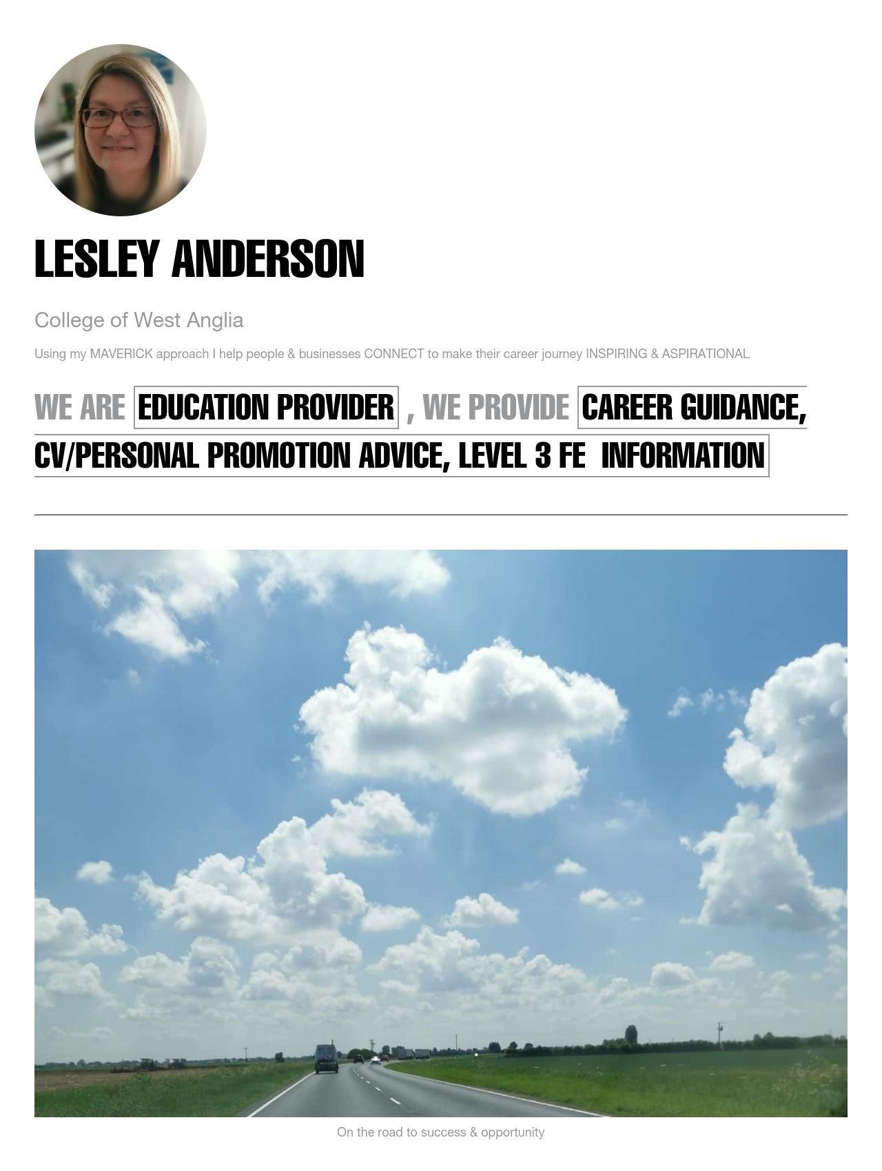 Lesley Anderson