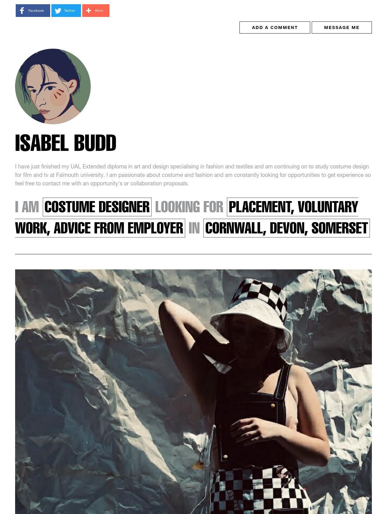 Isabel Budd