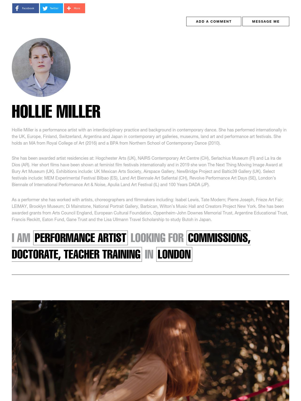 Hollie Miller