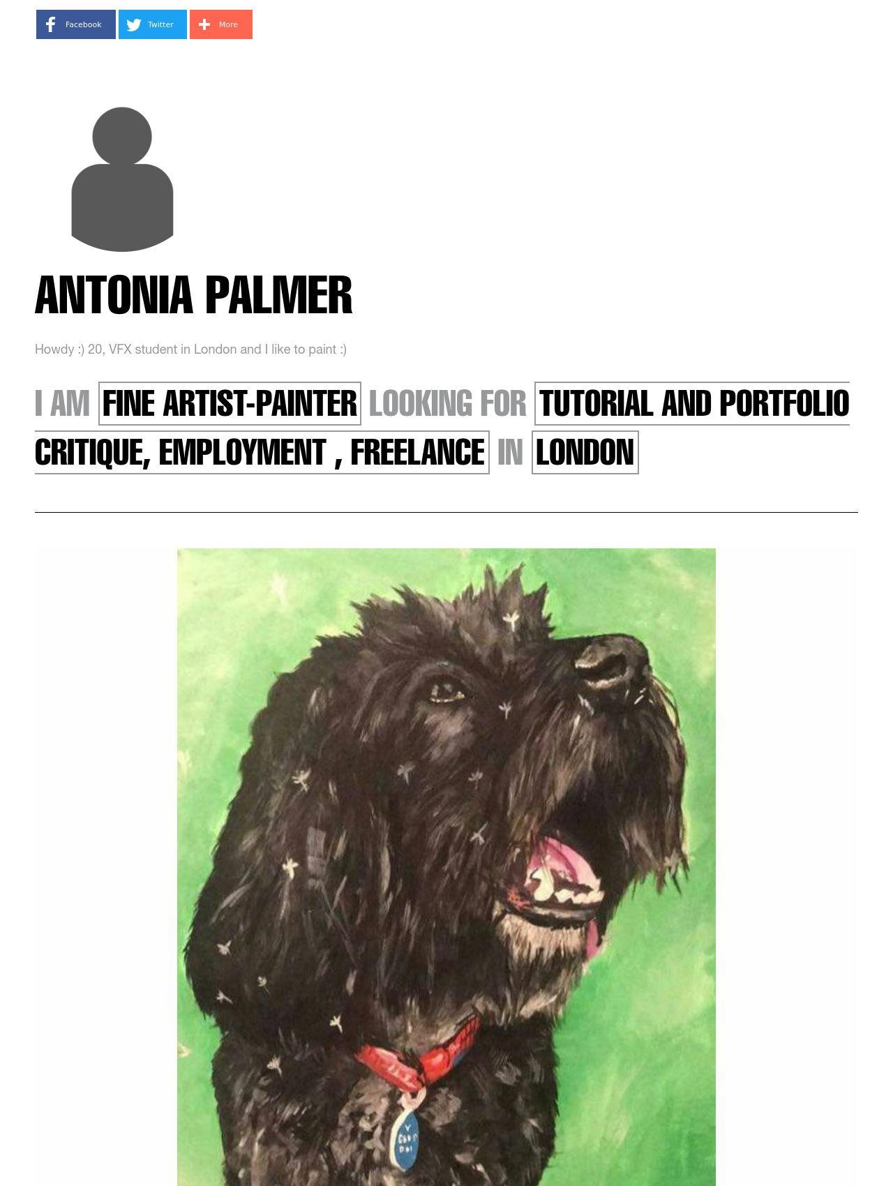 Antonia Palmer