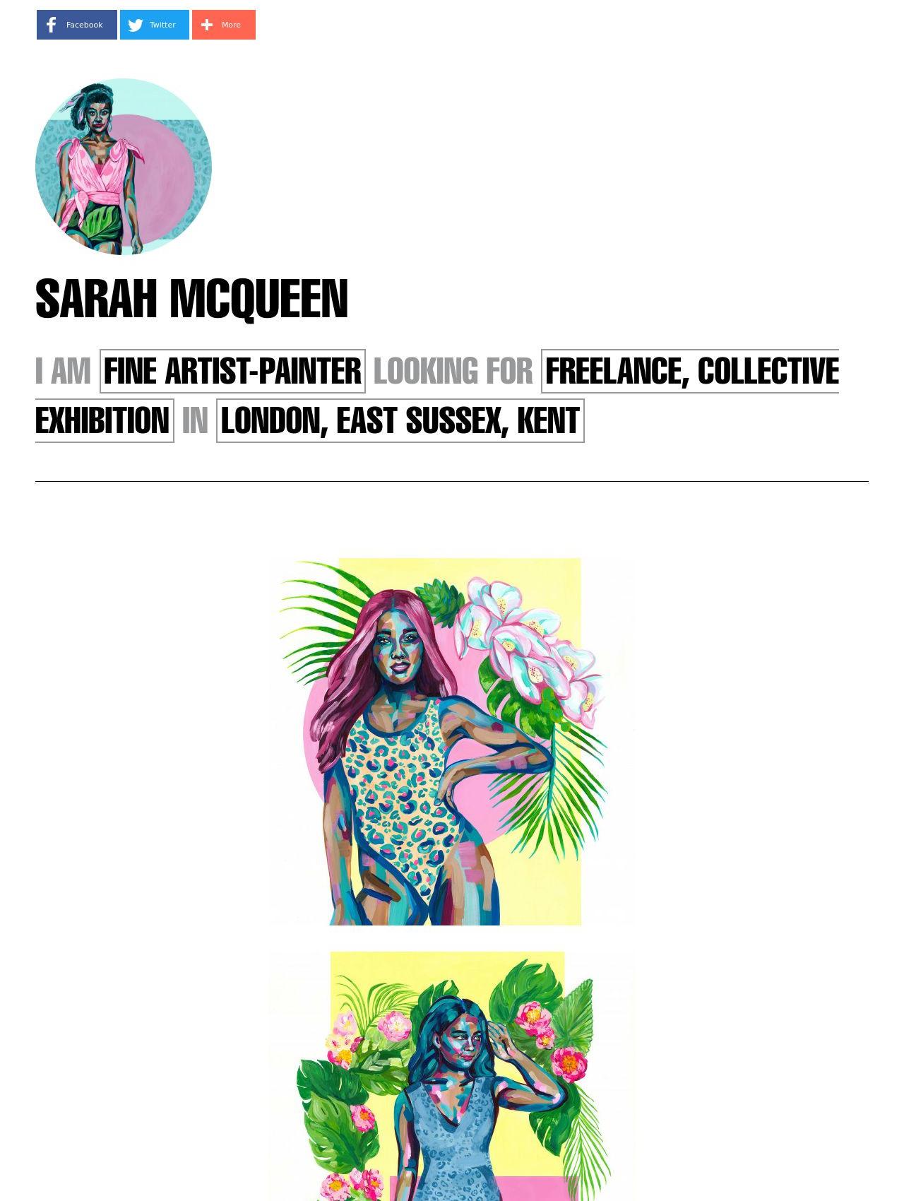 Sarah McQueen
